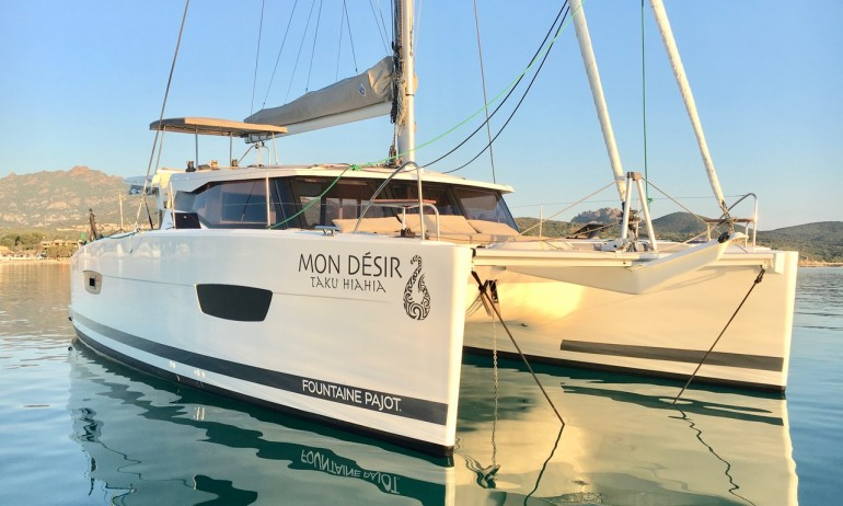 Foutaine Pajot Lucia 40 34