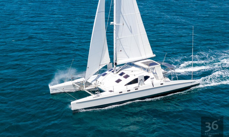 Richard Edlin Catamaran 4