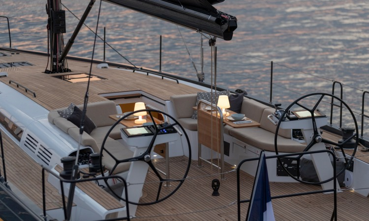 Beneteau First Yacht cockpit