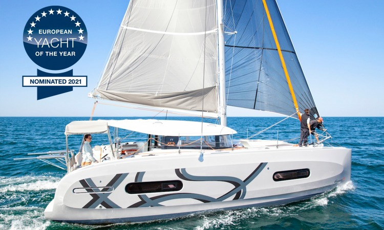 Excess 11 Catamaran award nomination