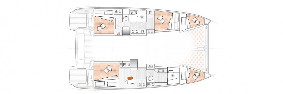 Excess 11 Layout 3 cabin