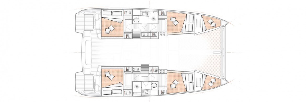 Excess 11 Layout 4cabin