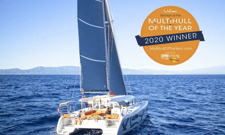 Excess 12 Multihull of the year award2