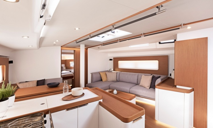 First Yacht 53 interior 15