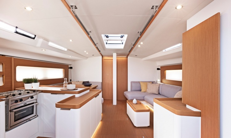 First Yacht 53 interior 17