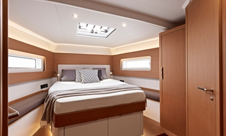 First Yacht 53 interior 2