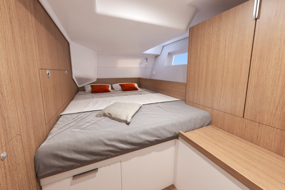 Beneteau First Yacht 53 Interior 5 double cabin
