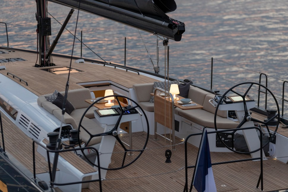 Beneteau First Yacht cockpit2