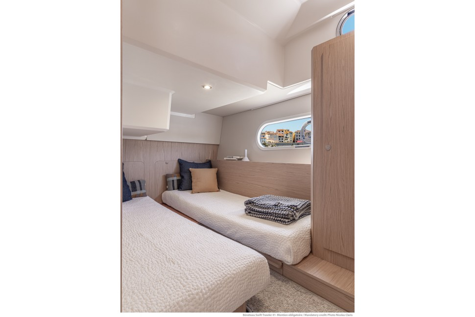 Beneteau Swift Trawler 41 twin cabin2