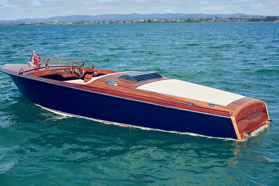 Chris Craft Cruiser Rebuild 21