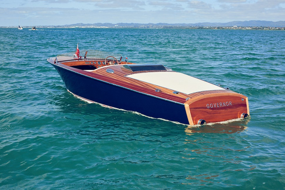 Chris Craft Cruiser Rebuild 22