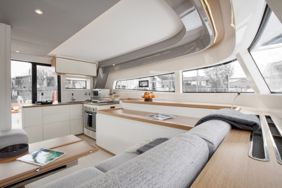 Excess 15 Catamaran interior 142