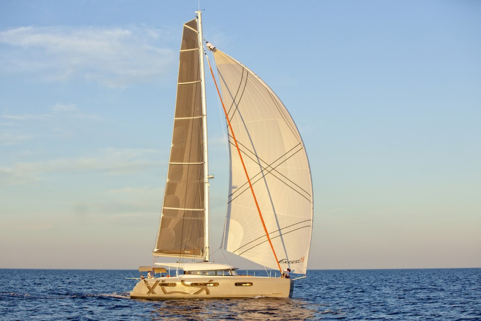 Excess 15 Catamaran sunset sail 5