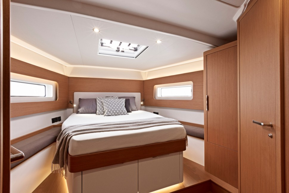 First Yacht 53 interior 1