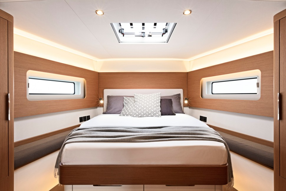 First Yacht 53 interior 3