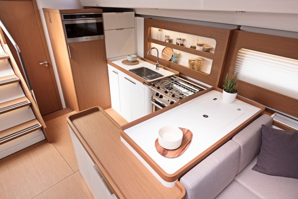 First Yacht 53 interior 6