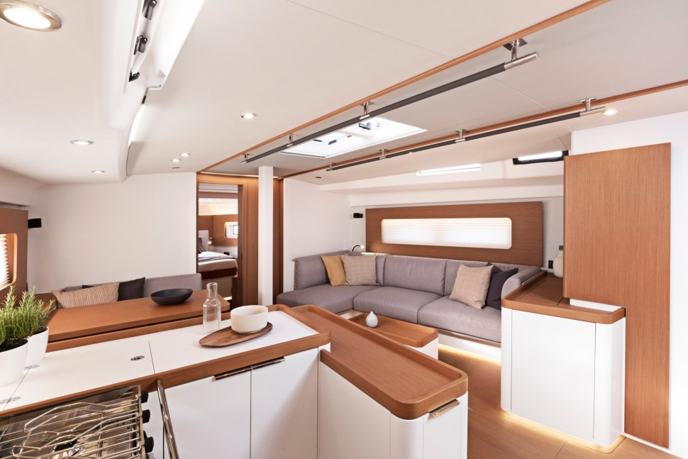 First Yacht 53 interior 8
