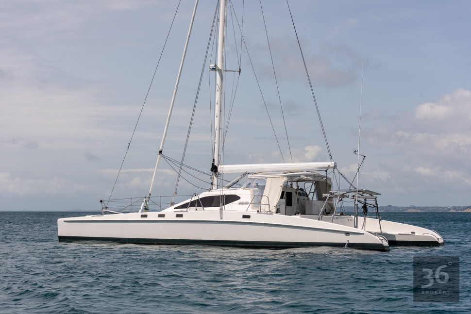 Richard Edlin Catamaran 10
