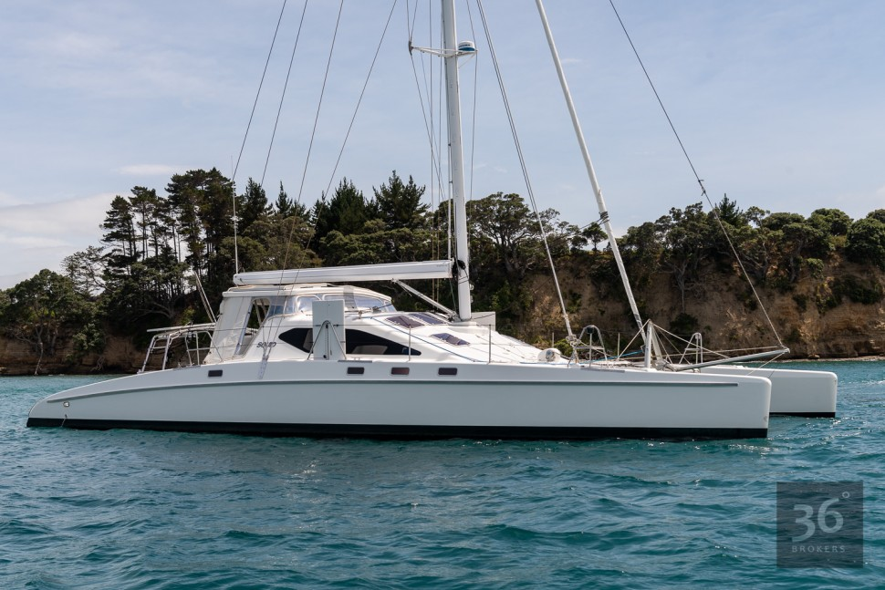 Richard Edlin Catamaran 12