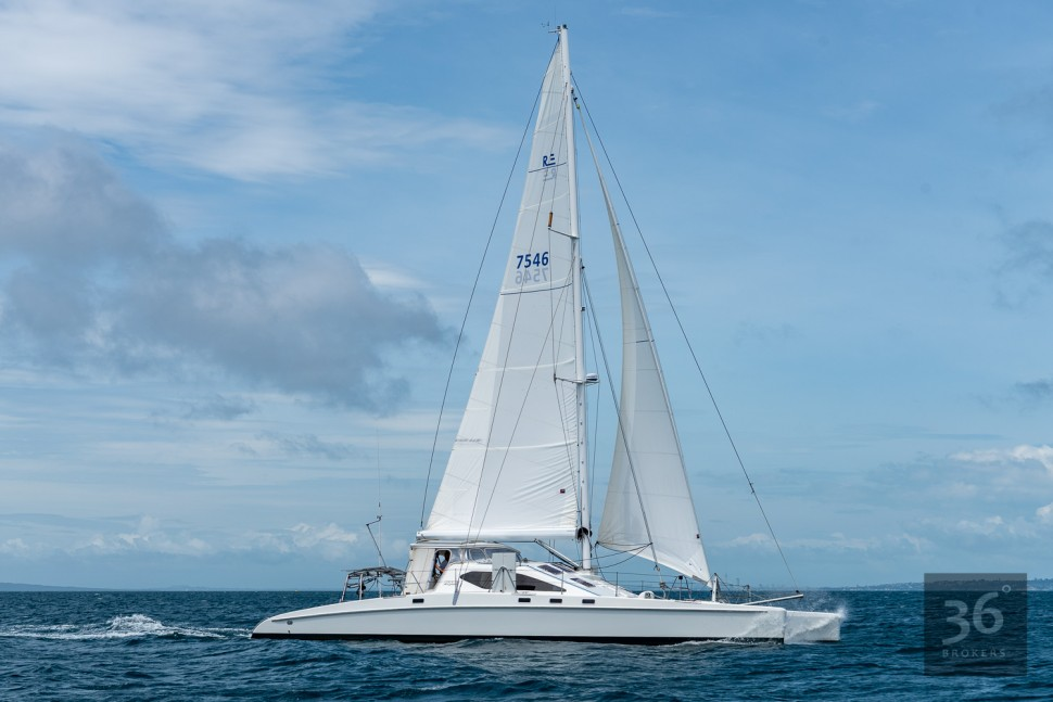 Richard Edlin Catamaran 3