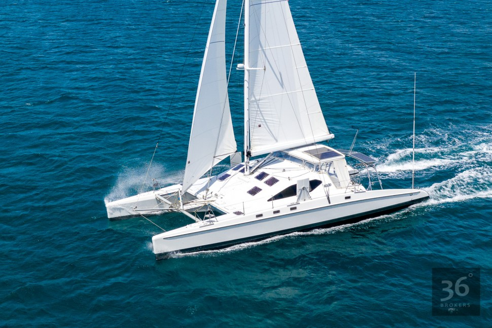 Richard Edlin Catamaran 5
