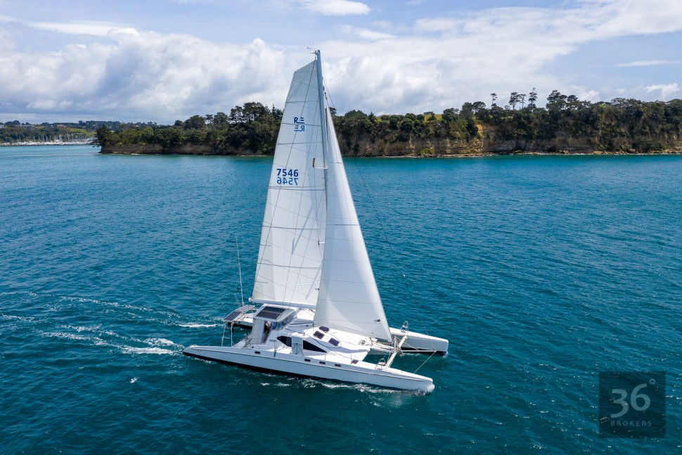 Richard Edlin Catamaran 6