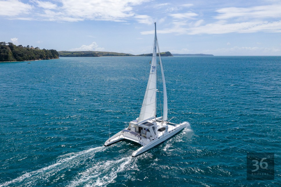 Richard Edlin Catamaran 7