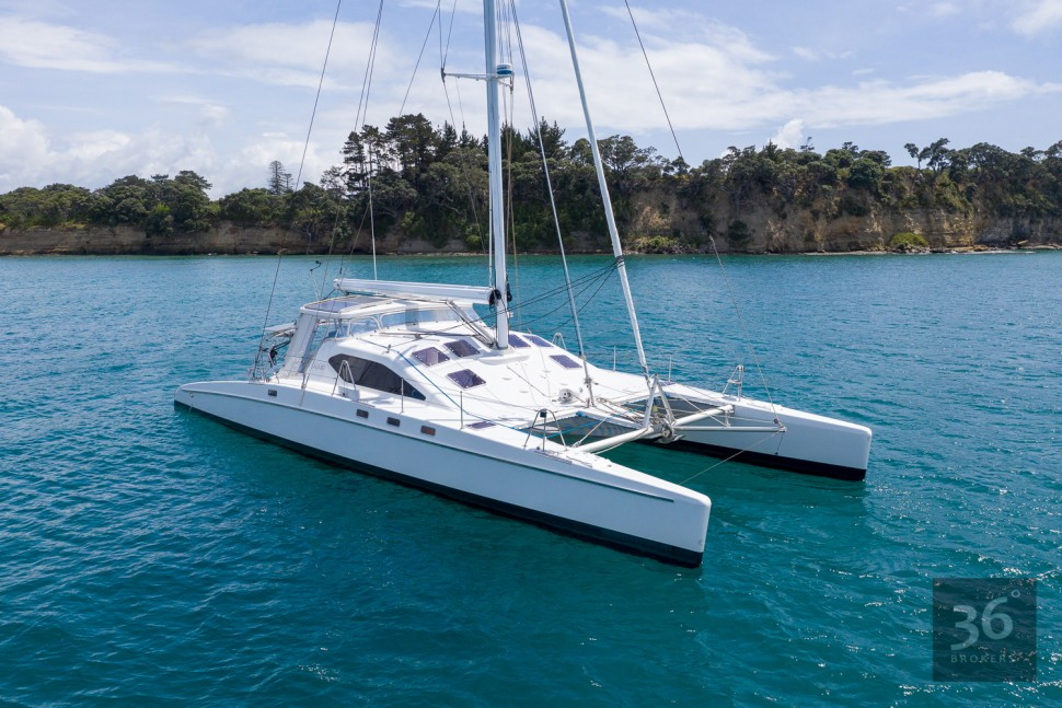 Richard Edlin Catamaran 8