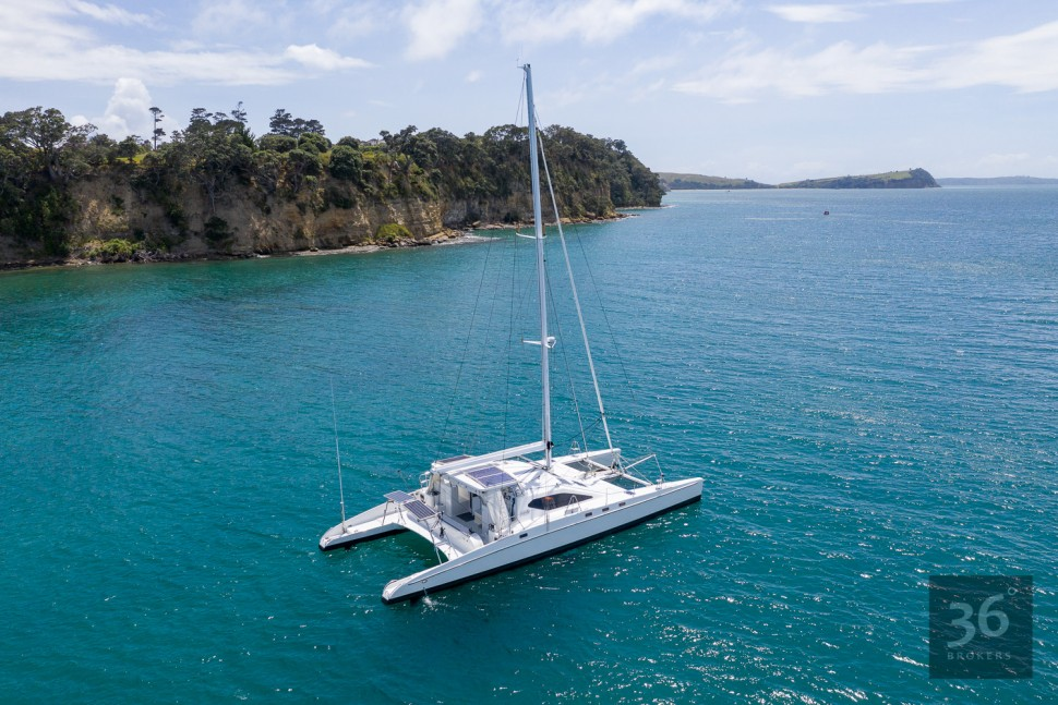 Richard Edlin Catamaran 9