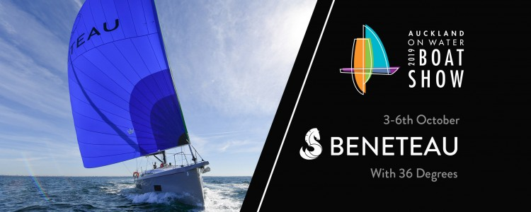 Beneteau at the Auckland On Water Boat Show 2019