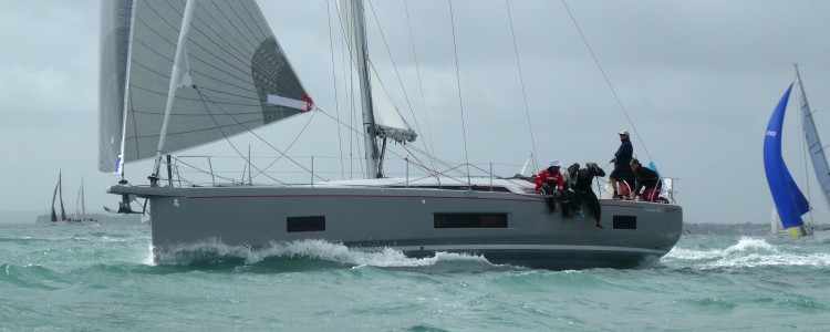 """First library to Russell"" on new Beneteau 46.1 in Coastal Classic"