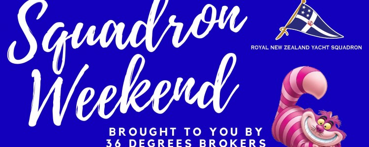 Squadron Weekend 2019 - sponsored by 36º Brokers!